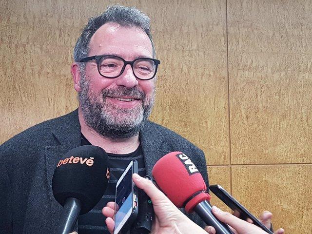 El director de la Oficina Municipal de Dades de Barcelona, Màrius Boada
