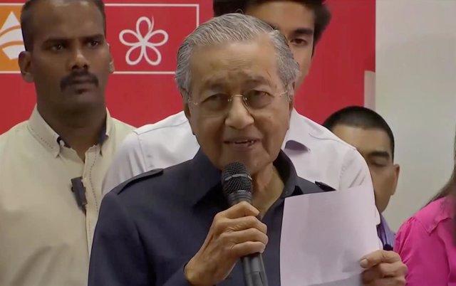 Mahathir Mohamad, primer ministro malasia