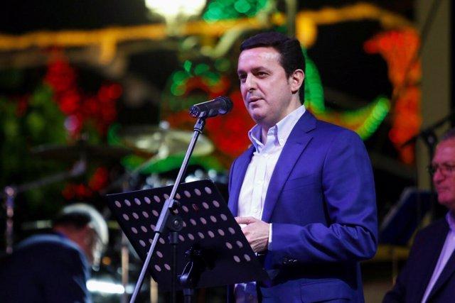 El vicepresidente de la Diputación Provincial de Almería, Javier A. Garcia