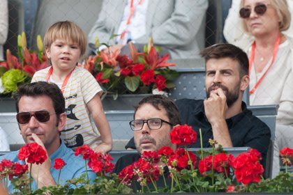 Sasha, el hijo de Shakira y Piqué, endulza la derrota de Nadal en Madrid