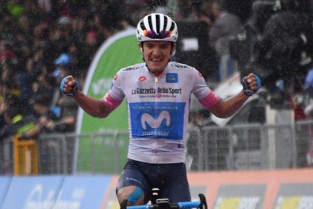 Richard Carapaz octava etapa Giro Italia