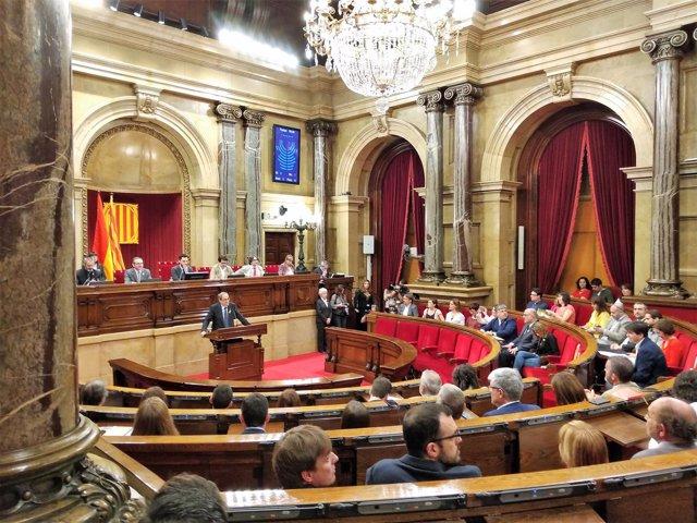 Discurso de Quim Torra (JxCat) en su discurso de investidura en el Parlament