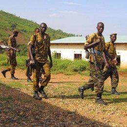 soldados de burundi