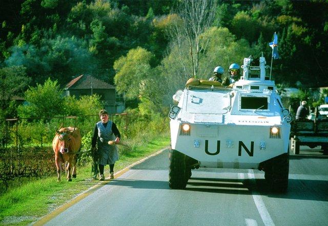 Primeros militares españoles desplegados en Bosnia hace 25 años
