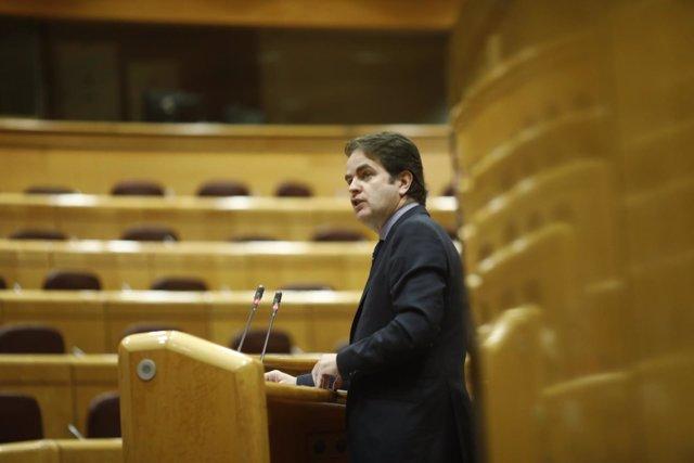 Roberto Bermúdez De Castro Comparece En El Senado Por El Artículo 155