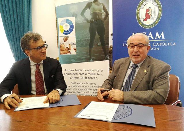La UCAM primera universidad de España que trabajará con 'Human Tecar'