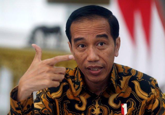El presidente indonesio Joko Widodo