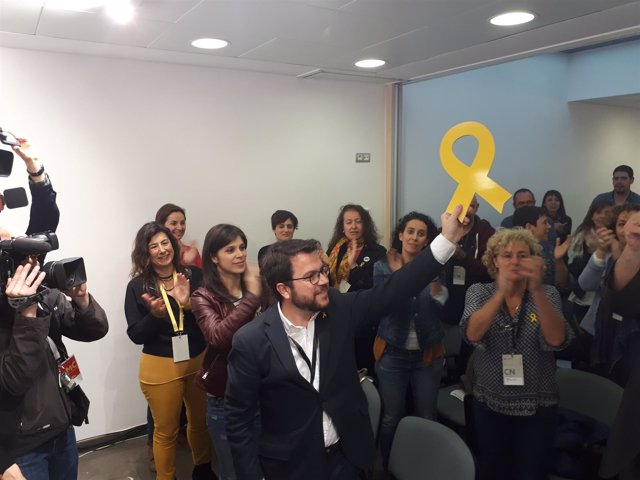 El adjunto a la Presidencia de ERC, Pere Aragonès