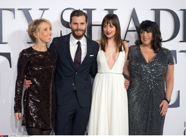 Taylor-Johnson, Jamie Dornan, Dakota Johnson Y E.L. James