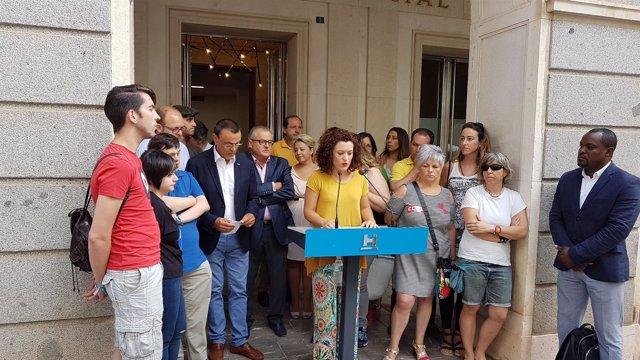 Siete responsables de Igualdad de Huelva acuden Cumbre Agendas Locales de Género