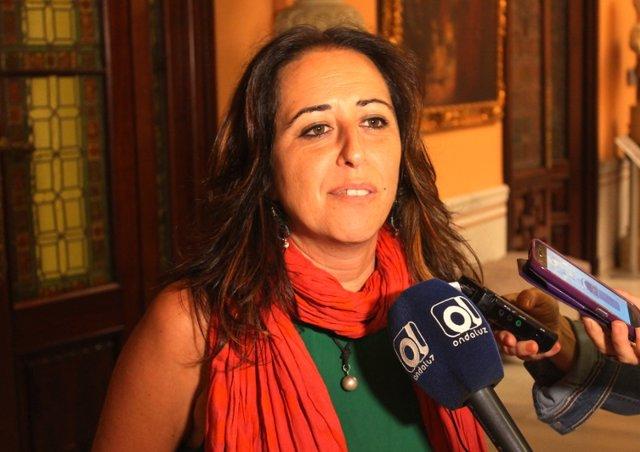 La concejal de Participa Sevilla Cristina Honorato