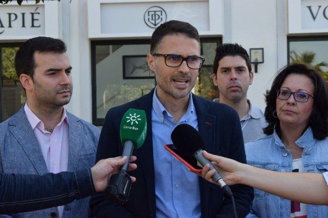 Secretario de Empleo y Relaciones Laborales del PSOE-A, José Carlos Durán