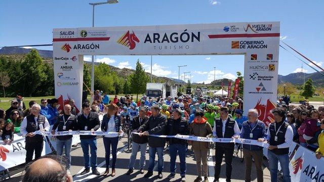El palmarés de la Vuelta Aragón inscribe hoy a un nuevo campeón.