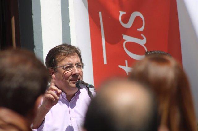 Vara en el acto del PSOE de Olivenza