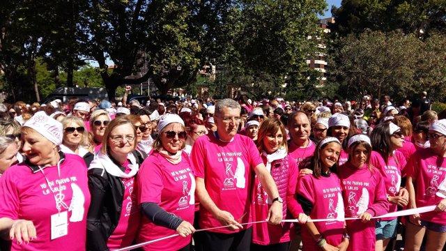 Celaya participa en la V Marcha por la Salud.
