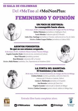 'III Sala De Columnas' . Primera Conferencia De Mujeres Periodistas