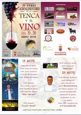IV Feria Agroalimentaria de la Tenca y el Vino