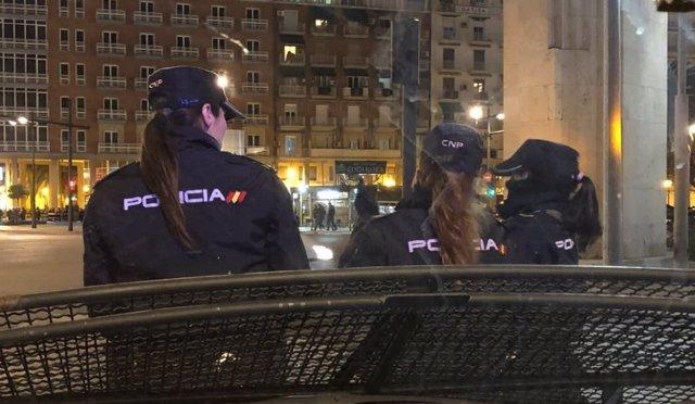 Control, policía, agentes, policías