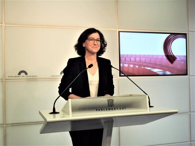 Eva Granados, portavoz del PSC en el Parlament