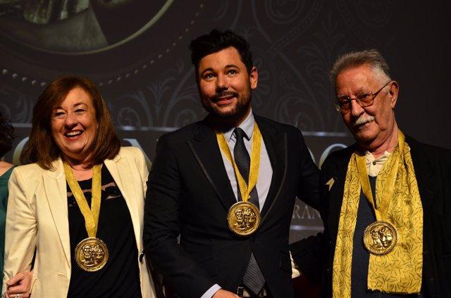 Entrega de los VII Premios Adriano Antínoo