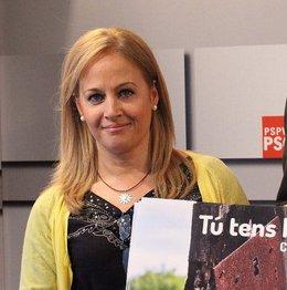 La portavoz de Justicia en Les Corts, Rosa Peris