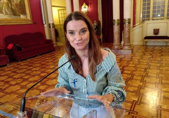 La portavoz del PP, Margalida Prohens