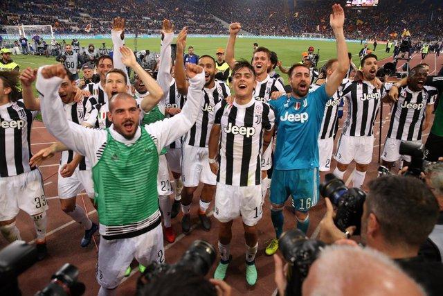La Juventus se proclama campeona de la Serie A por séptima vez consecutiva