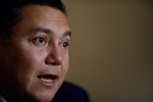 El pastor evangélico Javier Bertucci, candidato presidencial en Venezuela
