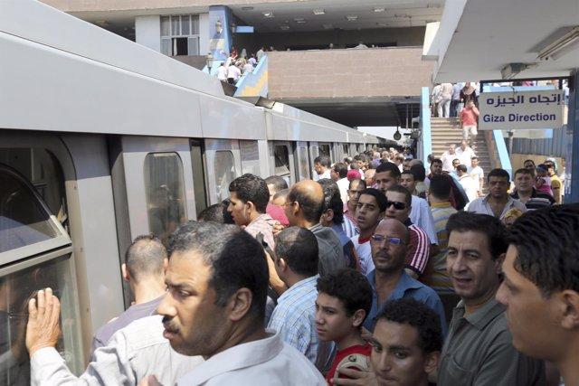 Metro de El Cairo (Egipto)