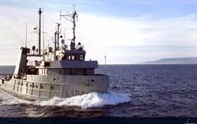 Buque auxiliar de la Armada Española Mar Caribe