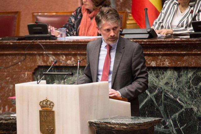 El diputado autonómico del PP Víctor Martínez-Carrasco