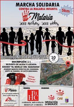Marcha solidaria contra la malaria