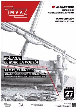 Diputación de málaga exposición el mar y la poesía