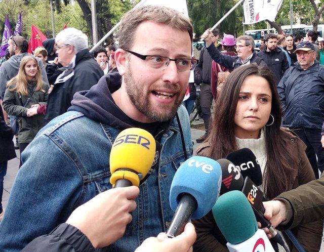 Vidal Aragonès, Maria Sirvent, CUP