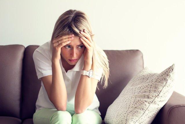 Ansiedad, mujer, depresión