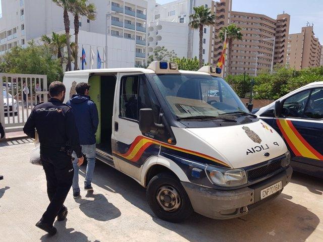 Detenido presunto autor de nueve robos en hoteles