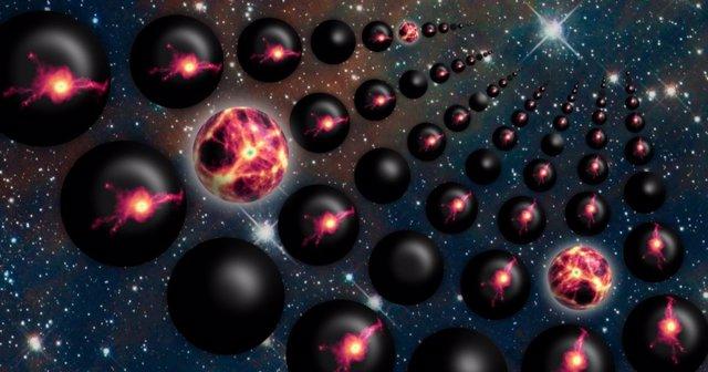 Impresión artística del Multiverso