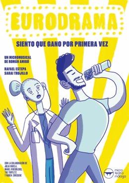 Cartel Eurodrama de Microteatro Málaga