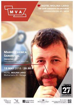 Cartel del ciclo de Diputación 'cafe cargado de lectura'