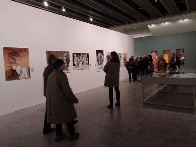 Exposición en el IAACC.