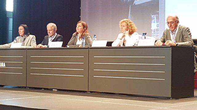 Sonia Fuertes, Josep Quitet, Laia Ortiz, Sara Berbel y Albert Alberich