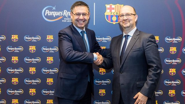 El Barça oficializa el acuerdo con Parques Reunidos para desarrollar cinco parqu
