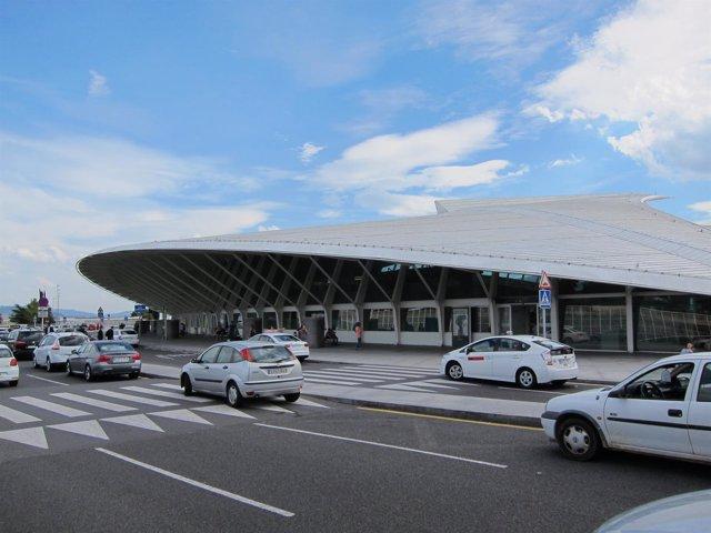 Aeropuerto de Loiu, Bilbao (Foto Archivo)