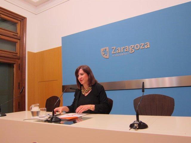 La portavoz del grupo municipal de Cs en el  Ayuntamiento, Sara Fernández.