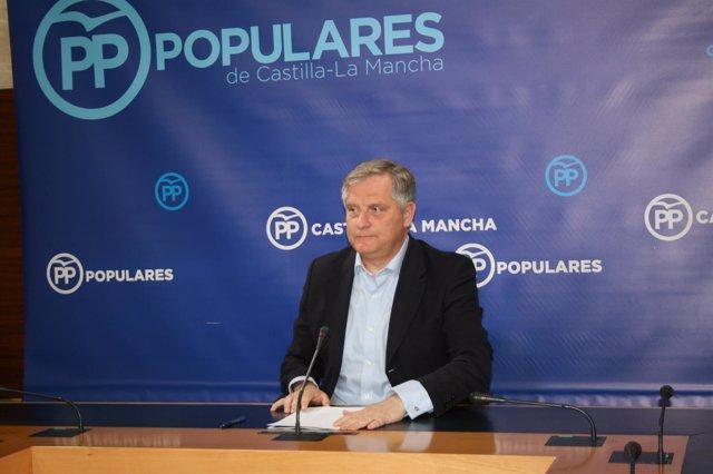 Gpp Clm (Cortes De Voz Y Fotografía) El Portavoz Del Gpp, Francisco Cañizares, E