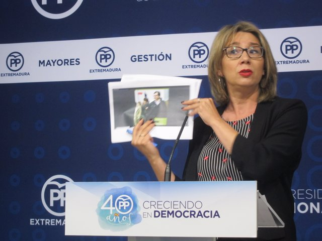 La vicesecretaria general del PP de Extremadura