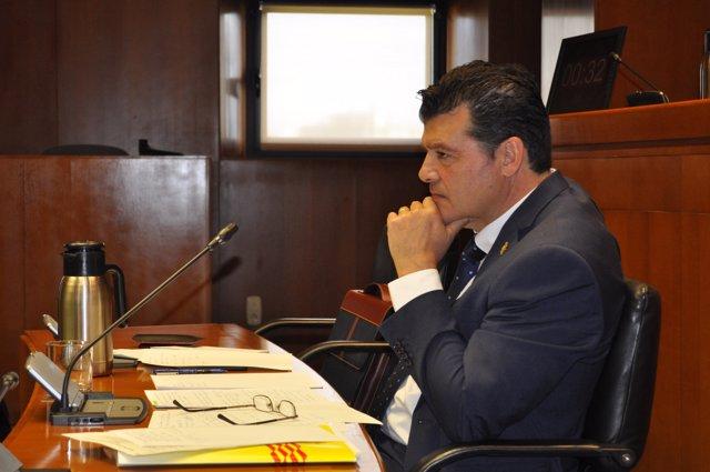 El comisionado del Ejecutivo aragonés contra la despoblación Javier Allué.