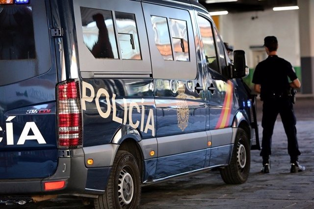 Vehículo de la Policía Nacional