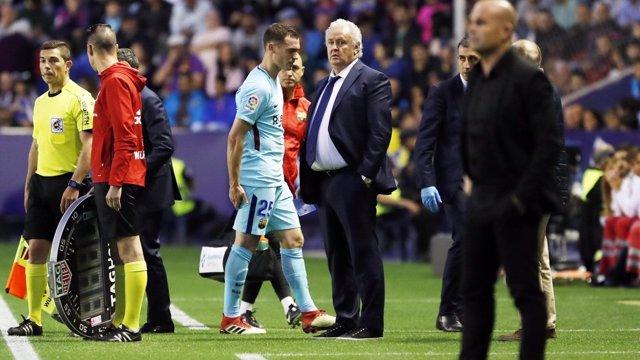 Thomas Vermaelen Barcelona lesión