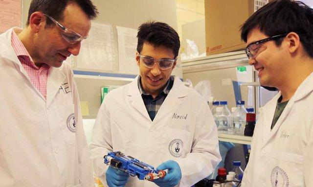Desarrollan la primera impresora de piel 3D para heridas profundas